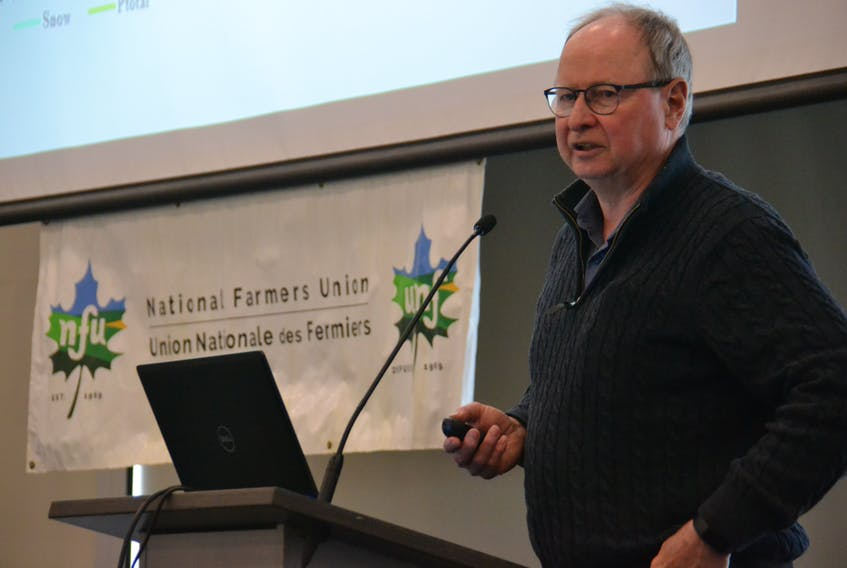 Donald Jardine of the UPEI climate lab said weather station data is critical for policy-makers to understand increasingly variable rainfall levels in P.E.I.