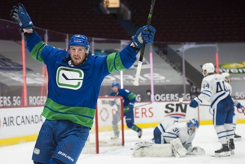 J.T. Miller and the Vancouver Canucks are now scheduled to return to NHL action on Sunday when they host the Toronto Maple Leafs at Rogers Arena.
