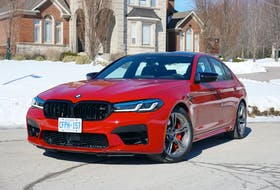 The BMW M5 Competition exists not merely as a high-priced toy for well-heeled motorheads, but as a laboratory for multiple forms of engineered performance. Brian Harper/Postmedia News