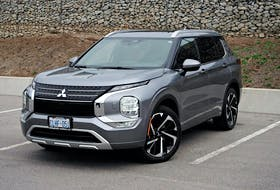 It's hard to decide what's most improved on the 2022 Mitsubishi Outlander. Chris Balcerak/Postmedia News