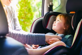 Obeying the rules of the road, including the speed limit, is just as important as your child being properly situated in an approved car seat. 123rf stock photo