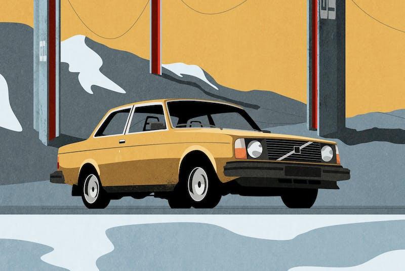 """Volvo 242"" Contributed/Douglas Peterson-Hui - POSTMEDIA"