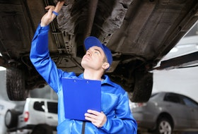 Having your vehicle inspected regularly would determine if you need an oil and filter change, or any other necessary repairs or maintenance. 123rf stock photo