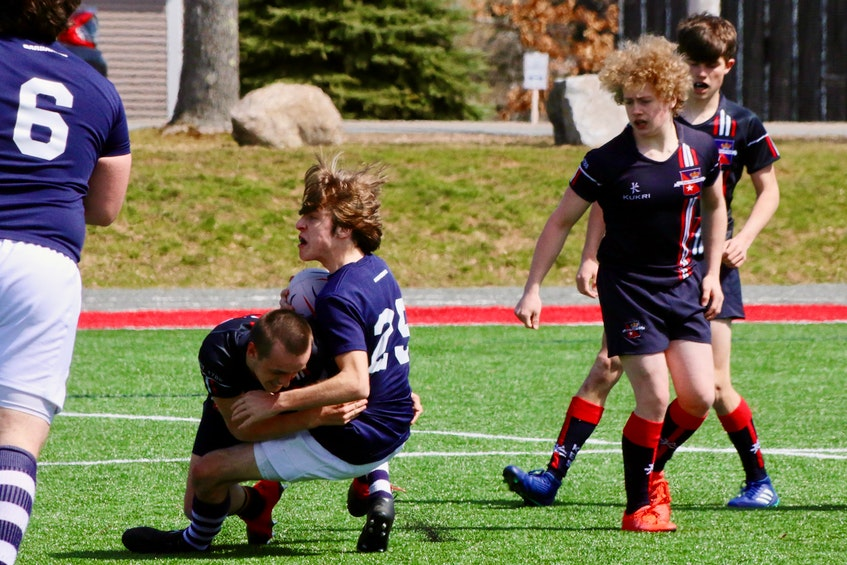 When Avon View and King's-Edgehill student-athletes meet on the pitch, it's almost always a hard-hitting affair. - Carole Morris-Underhill