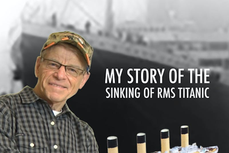 "Ray Johnson can be considered an expert on the sinking of the Titanic; in 2018, he published ""The Titanic: A Catastrophe That Should Not Have Been — My Story of the Sinking of RMS Titanic. — DRC Publishing/file - Contributed"