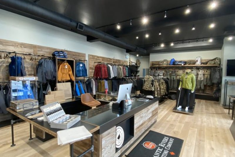 The Atlantic Rivers Outfitting Company store has lots of fly fishing gear, plus goods for camping, hunting and hiking. — Contributed