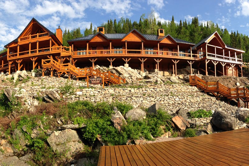 The St. Lewis River Lodge is one of two salmon angling lodges in Labrador that Atlantic Rivers Outfitting Company owns. — Contributed