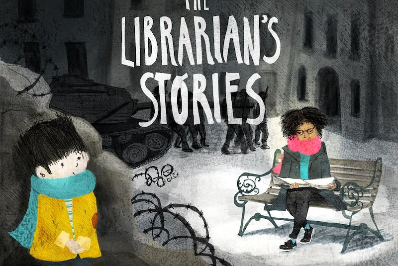 The Librarian's Stories by Lucy Falcone and Anna Wilson. - Contributed