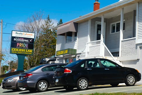 Pride Beauty Lounge is located in this building on Sackville Drive.