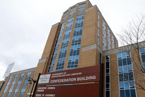 Confederation Building in St. John's, Newfoundland and Labrador.