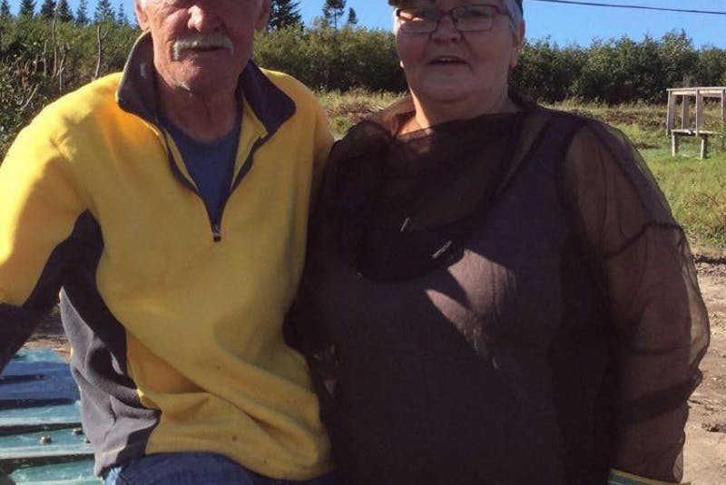 Raymond Green (left) and Phoebe Davis were together for 31 years. Green was working as a guide when a boat he was in capsized. Davis said in a past interview she hopes his death can help make it safer for everyone in the outfitting industry in Labrador. - CONTRIBUTED - Contributed