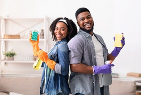 Dreading doing your spring cleaning - or any cleaning? A professional cleaner offers some tips to make the job easier.