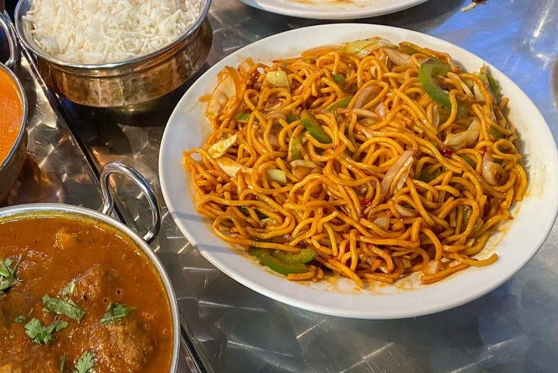 Hakka dishes like this vegetable chow mein are filled with Chinese and Indian flavours.  - Gabby Peyton