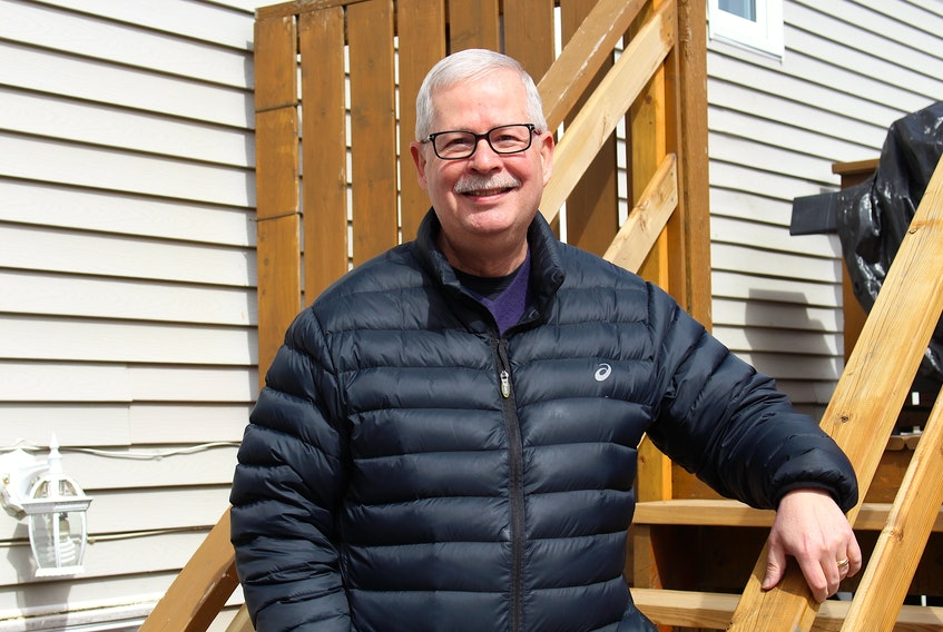 Grant O'Grady is the founder of the Newfoundland and Labrador Stuttering Association, which raises awareness and gives support to people who stutter. — Andrew Waterman/The Telegram
