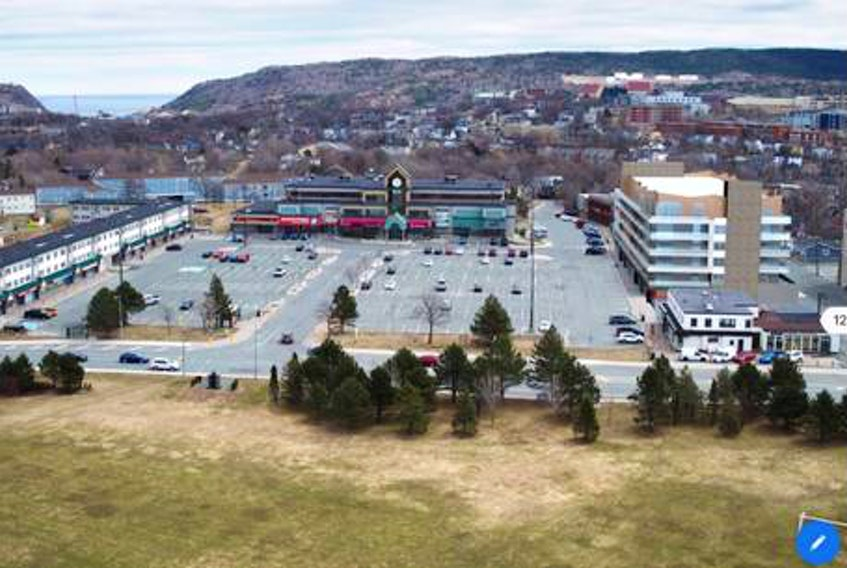 Churchill Square in St. John's will get a new design, which city council will determine next week. — FILE PHOTO