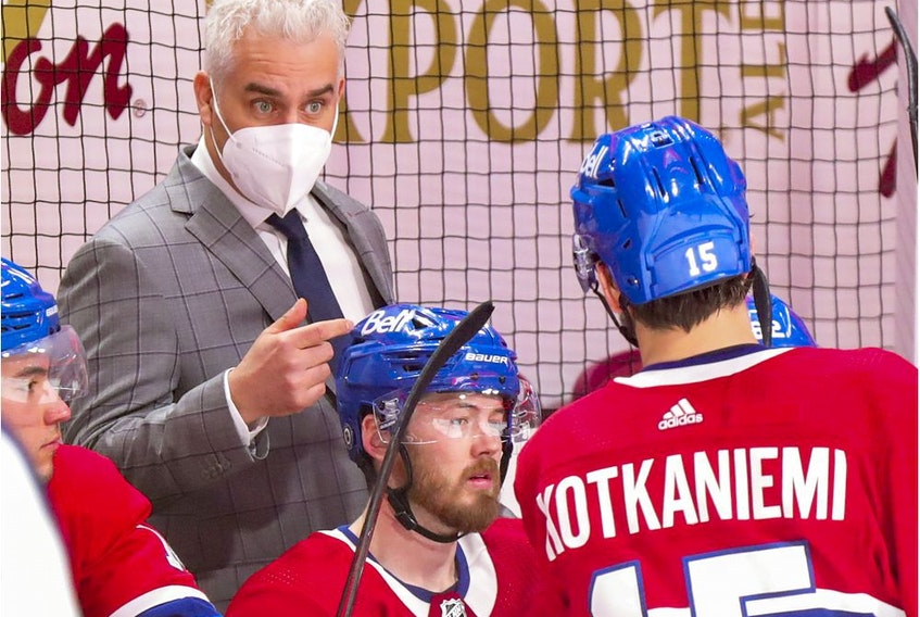 Dominique Ducharme has been put in a tough spot since GM Marc Bergevin decided to fire Julien when the Canadiens had a 9-5-4 record, Stu Cowan writes. Heading into Monday night's game vs. the Oilers, the team had gone 10-9-5 since the change.