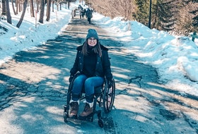 Lisa Marie Walters is a disability advocate and mobility aid user from St. John's, N.L. Walters said ableist language can impact disabled people's well-being, and how others interact with disabled people.