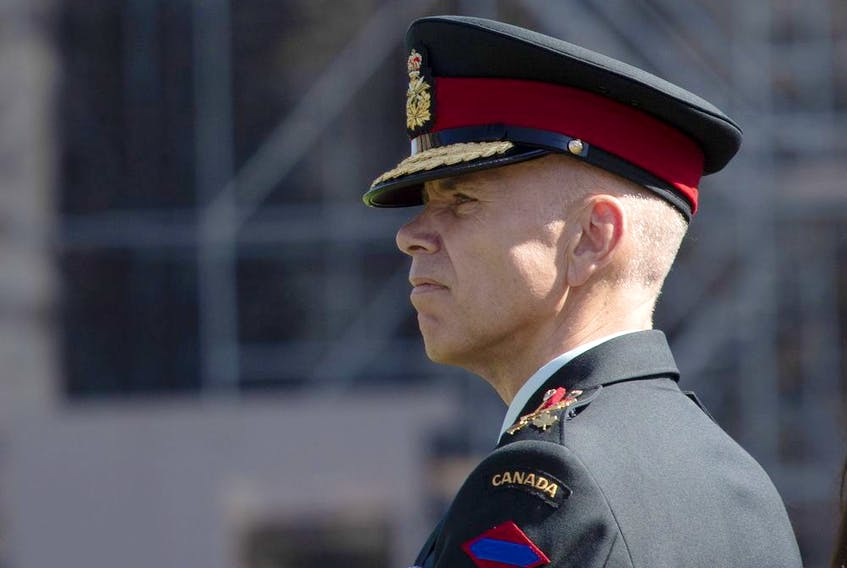 Lt.-Gen. Wayne Eyre is Canada's acting chief of the defence staff.