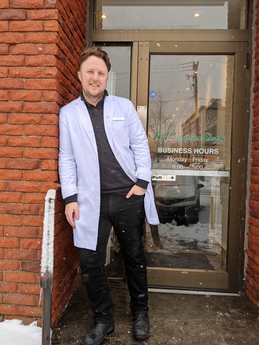 Prescription Shoppe pharmacist Aaron Hall is excited to help more Newfoundland and Labrador residents access affordable prescriptions. - Photo Contributed.