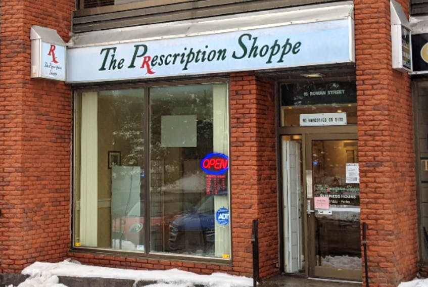 While the Prescription Shoppe in St. John's is Genrus United's first partner in Newfoundland and Labrador, more pharmacy partnerships are expected as interest in the program grows. - Photo Contributed.