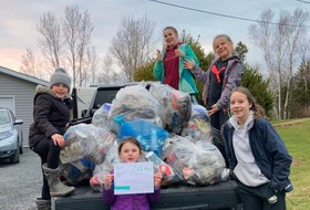 The annual Go Clean Get Green has already started in the Municipality of Pictou County's disrtict 3 with this group getting out Monday evening along Division Road. Municipality of Pictou County Facebook photo