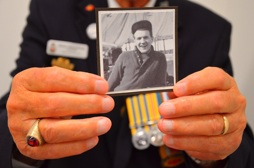 Doug Fredericks was just 19 when he was in Korea as a Special Forces member. - File Photo