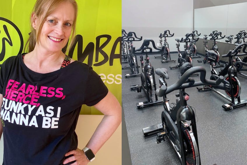 """Certified fitness instructor Jen Landry says even if you go on your own, you're """"always among friends"""" when you're in a group fitness class. - Photo Contributed."""