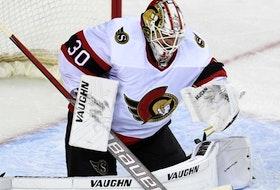 Ottawa Senators goaltender Matt Murray.