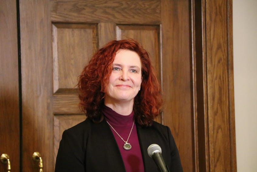 NDP Leader Alison Coffin. — File/Glen Whiffen