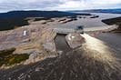 An aerial view of the Muskrat Falls site. — CONTRIBUTED PHOTO