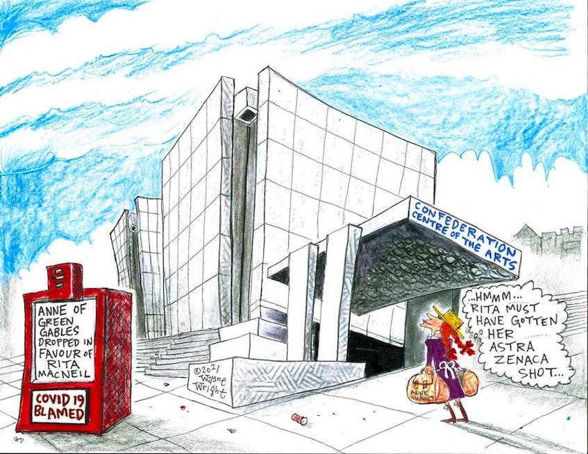Wayne Wright's editorial cartoon for Wednesday, April 21, 2021. - Wayne Wright