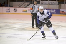 Charlie DesRoches, a defenceman from Days Corner, is in his third season with the Saint John Sea Dogs of the Quebec Major Junior Hockey League.