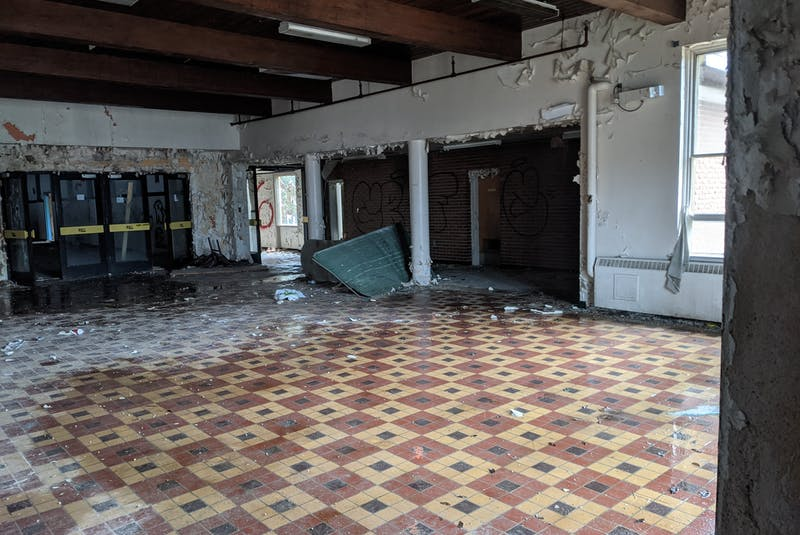 Aside from peeling paint, debris and vandalism, the buildings at the former Shelburne Youth Centre in Sandy Point are structurally sound. Contributed   - Saltwire network