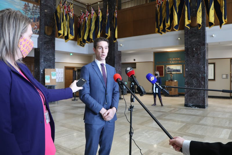 Justice and Public Safety Minister John Hoganannounced Wednesday that an all-party committee will be formed to review the election and modernize the province's Elections Act. — Glen Whiffen/SaltWire Network