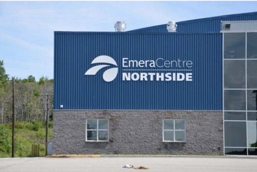 The Emera Centre Northside is seeking loan forgiveness from the CBRM. CONTRIBUTED