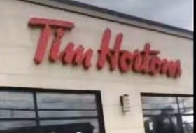 Hamilton Police are looking into an incident captured on video in which an irate maskless man blasts Tim Hortons staff over washroom access.
