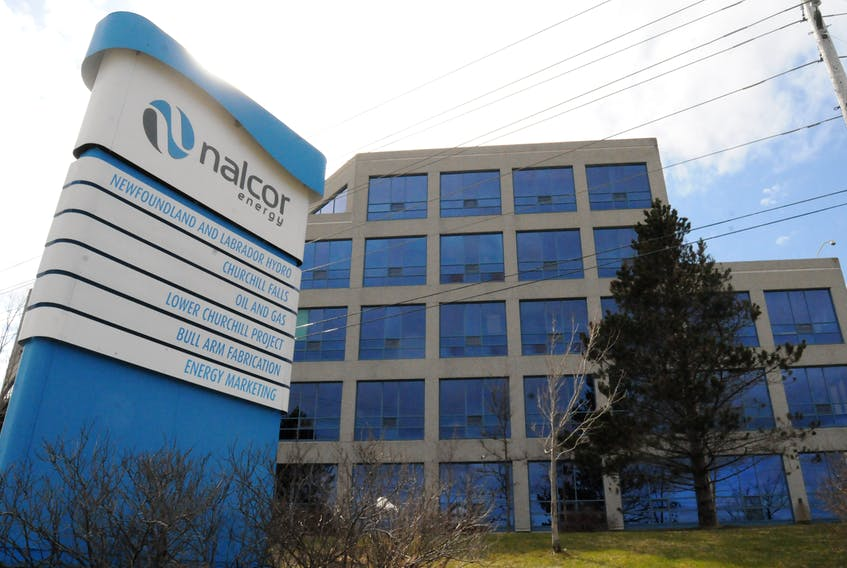 Nalcor headquarters in St. John's. Joe Gibbons/SaltWire Network