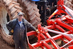 Like many farmers, Vernon Campbell of P.E.I.'s Mull Na Beinne Farms Ltd. has replaced a mouldboard plow with a cultivator in order to reduce soil tillage. The cultivator leaves some sod on the surface, which helps prevent wind and water soil erosion. Replacing moldboard plows is one practice that has become common in P.E.I. as farmers begin adopting best practices to improve soil health, following a year of drought-like conditions in 2020.