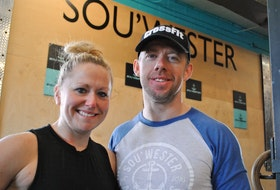 Riley and Ryan Foley are the owners of Sou'Wester Athletics in Shelburne and Barrington Passage. KATHY JOHNSON