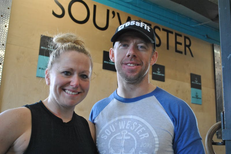 Riley and Ryan Foley are the owners of Sou'Wester Athletics in Shelburne and Barrington Passage. KATHY JOHNSON    - Saltwire network