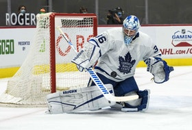 Maple Leafs netminder Jack Campbell has followed up his record-setting undefeated streak with three consecutive losses, but still has the faith of his head coach, Sheldon Keefe. Campbell will look to right the ship tonight in Winnipeg.