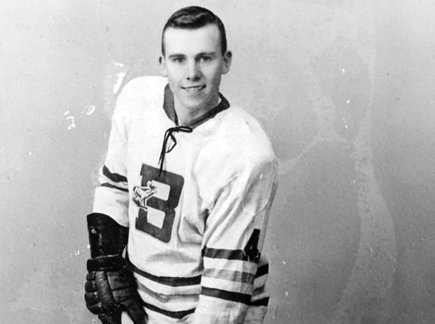 Win Matheson was a 16-year-old rookie with Brookfield Elks in 1957. - Contributed