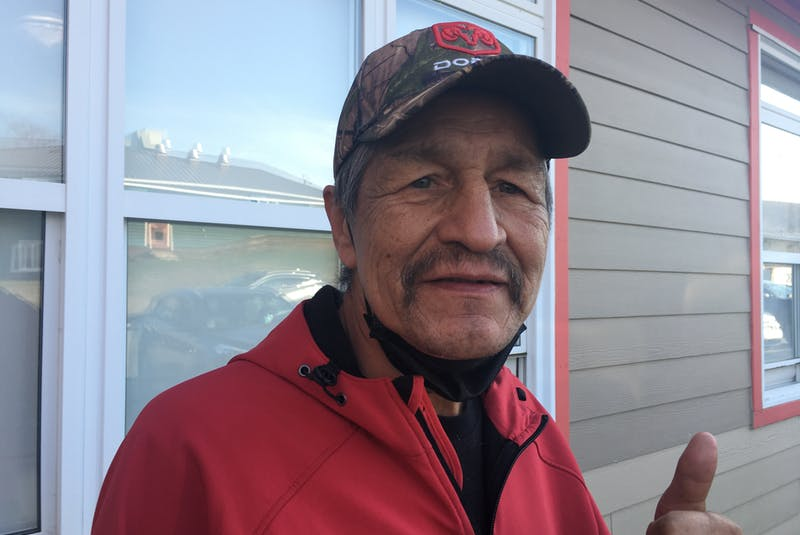 Jibby Paul, 61, is running for council in Eskasoni First Nation. ARDELLE REYNOLDS/CAPE BRETON POST