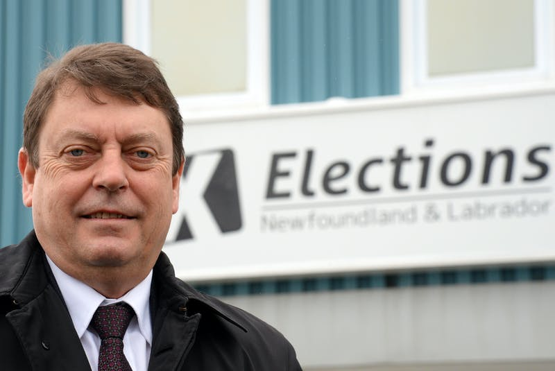 Newfoundland and Labrador's Chief Electoral Officer Bruce Chaulk. — File photo by Keith Goose/SaltWire Network