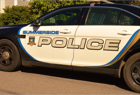 Summerside police investigate numerous broke and enter in several storage units at a First Street apartment building.
