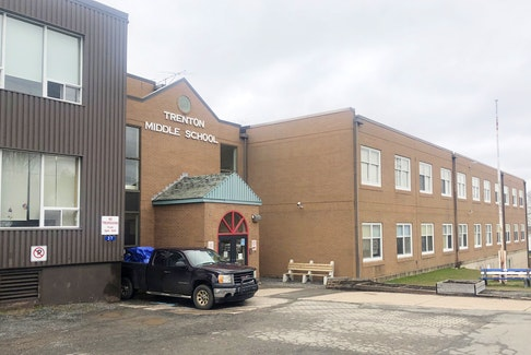 Trenton Middle School was constructed in three phases, 1925, 1953 and 1986.