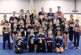 The Pictou County Gymnastics Club's competitive team has been able to return to competition after a year. Doing well at the two competitions they have attended so far.