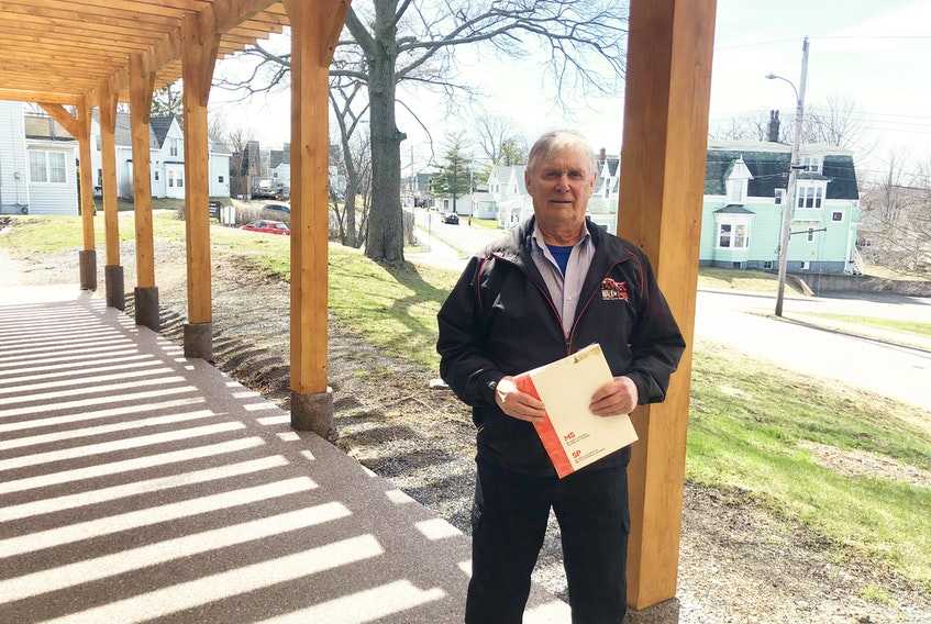 Sheldon Patriquin has raised more than 107,000 for the MS Society of Canada.
