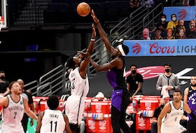 Toronto Raptors forward Pascal Siakam was excellent against the Brooklyn Nets.