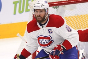 Montreal Canadiens defenceman Shea Weber.